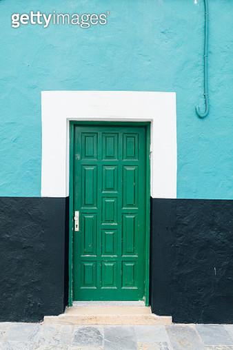 Colourful door - gettyimageskorea