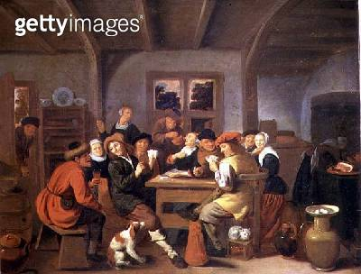 <b>Title</b> : 131-0635454 A Happy Party<br><b>Medium</b> : oil on canvas<br><b>Location</b> : Frans Hals Museum, Haarlem, The Netherlands<br> - gettyimageskorea