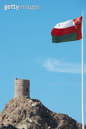 Muscat, Oman's port capital, sits on the Gulf of Oman surrounded by mountains and desert - gettyimageskorea