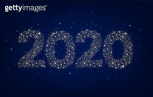 Happy newyear 2020 design - gettyimageskorea