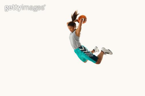 Flying Basketball Player 13 - gettyimageskorea