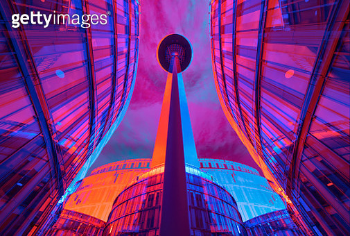 Vibrant architecture - gettyimageskorea