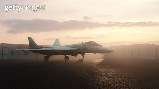 Sukhoi Su-57 Russian stealth jet fighter - gettyimageskorea