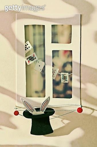 In my window (Illusionist) - gettyimageskorea