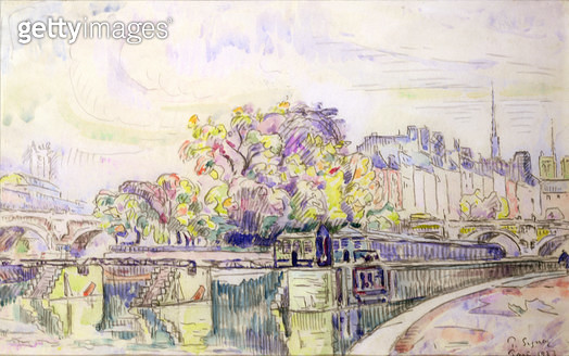 <b>Title</b> : Paris, 1923 (w/c)<br><b>Medium</b> : watercolour on paper<br><b>Location</b> : Galerie Daniel Malingue, Paris, France<br> - gettyimageskorea