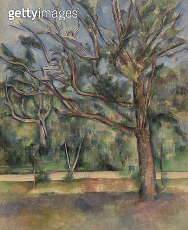 <b>Title</b> : Large Oak (oil on canvas)<br><b>Medium</b> : oil on canvas<br><b>Location</b> : The Barnes Foundation, Merion, Pennsylvania, USA<br> - gettyimageskorea