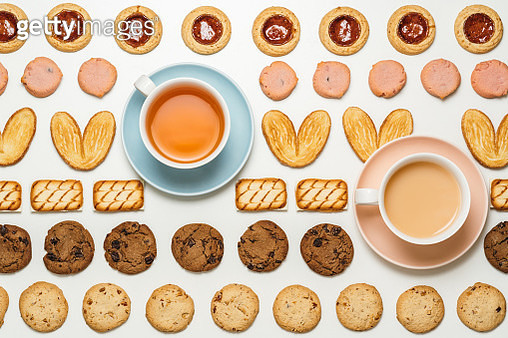 Food knolling, afternoon tea time - gettyimageskorea