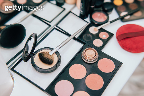 Make up set and tools. - gettyimageskorea