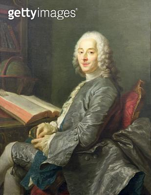 <b>Title</b> : Portrait of Duval de l'Epinoy, 1745 (oil on canvas)<br><b>Medium</b> : <br><b>Location</b> : Private Collection<br> - gettyimageskorea