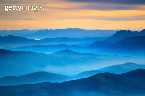 Aerial View from Gorbea, Spain - gettyimageskorea