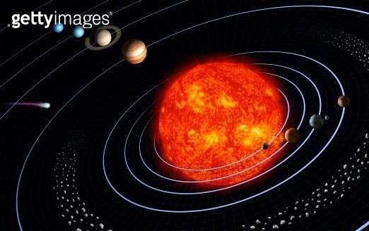 The Solar System - gettyimageskorea