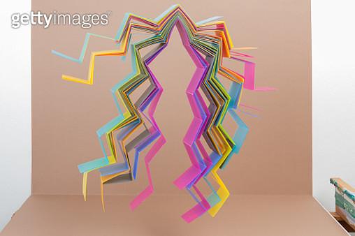 Abstract dancing figure - gettyimageskorea