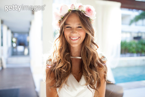 Flower Crown - gettyimageskorea