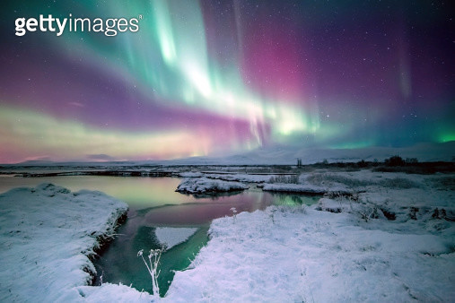 The Colors of Aurora - gettyimageskorea