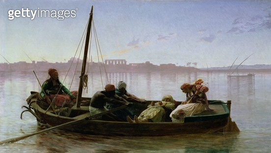 <b>Title</b> : The Prisoner, 1861 (oil on panel)<br><b>Medium</b> : oil on panel<br><b>Location</b> : Musee des Beaux-Arts, Nantes, France<br> - gettyimageskorea