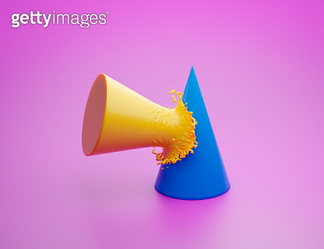Cone splash - gettyimageskorea