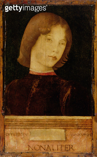 <b>Title</b> : Portrait of a Boy, c.1470 (tempera on panel)<br><b>Medium</b> : tempera on panel<br><b>Location</b> : The Barber Institute of Fine Arts, University of Birmingham<br> - gettyimageskorea