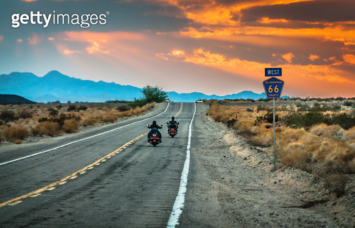 Route 66 Riders - gettyimageskorea