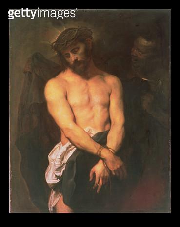 <b>Title</b> : Ecce Homo, c.1625-26<br><b>Medium</b> : oil on canvas<br><b>Location</b> : The Barber Institute of Fine Arts, University of Birmingham<br> - gettyimageskorea