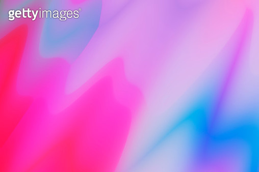 Fluid color shapes. Abstract watercolor pibnk and blue colorful background - gettyimageskorea