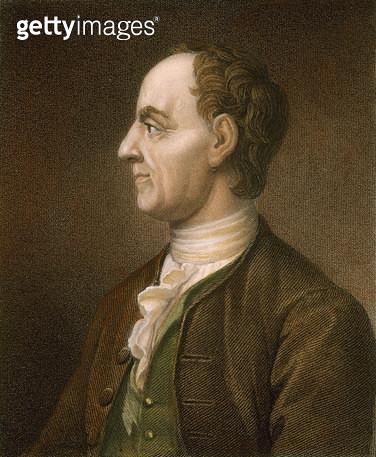LEONARD EULER (1707-1783). /nSwiss mathematician: stipple engraving, English, 1835. - gettyimageskorea