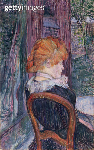 <b>Title</b> : Woman Seated in a Garden, 1890 (oil on cardboard)Additional Infogarden of Pere Forest, Montmartre;<br><b>Medium</b> : oil on cardboard<br><b>Location</b> : The Barber Institute of Fine Arts, University of Birmingham<br> - gettyimageskorea