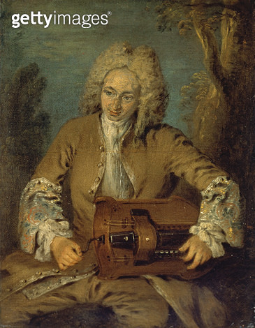 <b>Title</b> : Man Playing a Hurdy-GurdyAdditional Infopossibly by Nicolas Lancret (1690-1743); Le Joueur de Vielle; vielleur;<br><b>Medium</b> : oil on canvas<br><b>Location</b> : The Barber Institute of Fine Arts, University of Birmingham<br> - gettyimageskorea