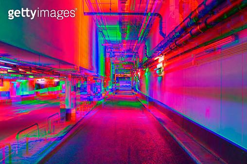 Vibrant tunnel - gettyimageskorea