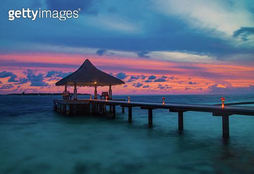 Maldives sunrise - gettyimageskorea