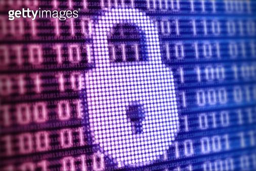 Digital lock - gettyimageskorea