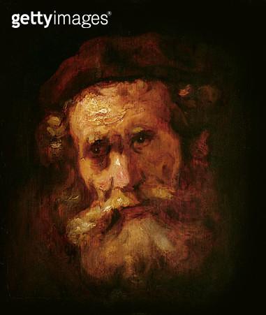 <b>Title</b> : A Rabbi (oil on canvas)<br><b>Medium</b> : oil on canvas<br><b>Location</b> : Musee Bonnat, Bayonne, France<br> - gettyimageskorea