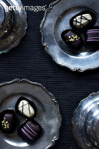 Close-Up Of Dessert On Table - gettyimageskorea