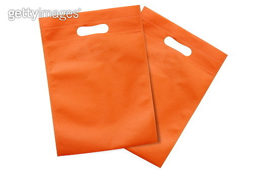 High Angle View Of Shopping Bags Against White Background - gettyimageskorea