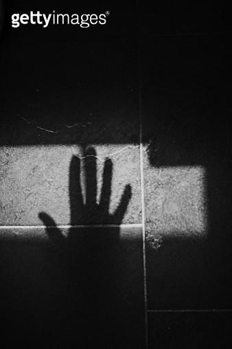 Hand Shadow - gettyimageskorea