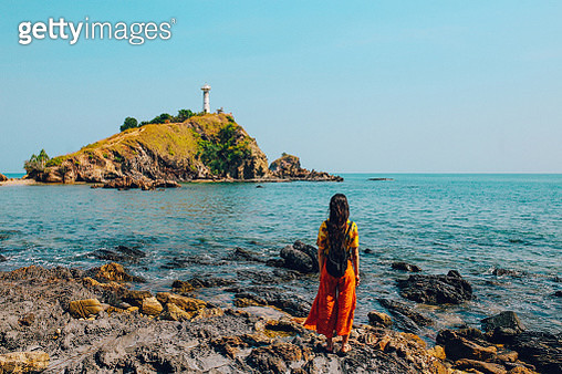 Solo traveler on the island of Koh Lanta, Thailand - gettyimageskorea
