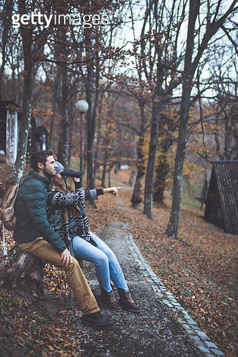 Enjoying the outdoors together - gettyimageskorea