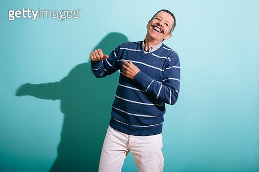 Senior Gay Man Dancing - gettyimageskorea