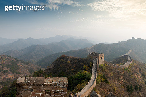 the Great Wall at beijing,china - gettyimageskorea