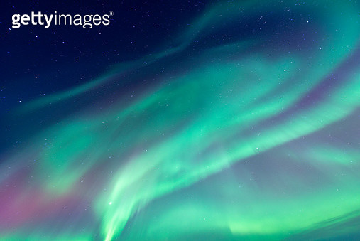 Amazing Northern lights in Iceland - gettyimageskorea