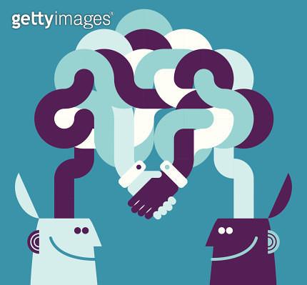 Cooperation Concept - gettyimageskorea