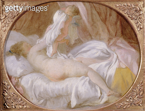 <b>Title</b> : The Chemise Removed or The Lady Undressing, before 1778 (oil on canvas)<br><b>Medium</b> : oil on canvas<br><b>Location</b> : Louvre, Paris, France<br> - gettyimageskorea