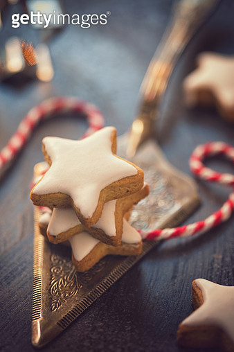 Homemade Christmas Gingerbread Cookies - gettyimageskorea