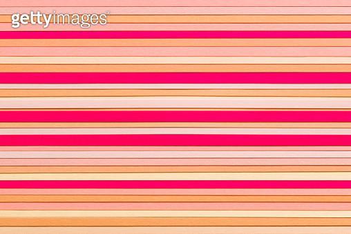 Pink Paper Stripes - gettyimageskorea