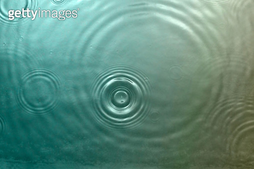 Ripples on water surface - gettyimageskorea