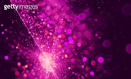 Colorful light ultra violet abstract background blur motion with bokeh light. Fractal artwork for creative design. - gettyimageskorea
