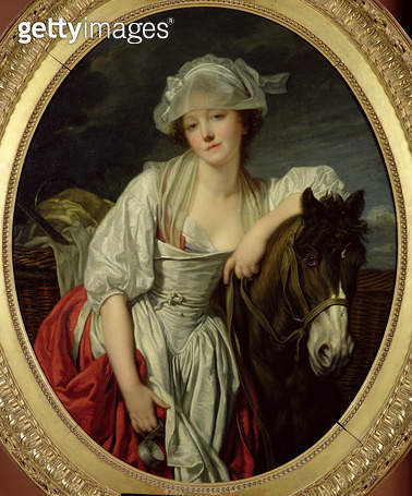 <b>Title</b> : The Milkmaid (oil on canvas)<br><b>Medium</b> : oil on canvas<br><b>Location</b> : Louvre, Paris, France<br> - gettyimageskorea
