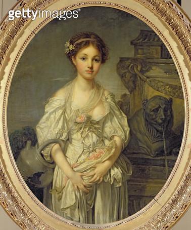 <b>Title</b> : The Broken Pitcher, c.1772-73 (oil on canvas)<br><b>Medium</b> : oil on canvas<br><b>Location</b> : Louvre, Paris, France<br> - gettyimageskorea