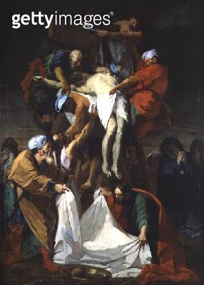 The Descent from the Cross/ 1697 (oil on canvas) - gettyimageskorea
