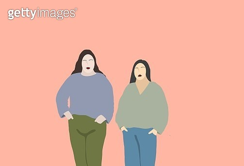 women, human, group, community, diversity, human right's, girl, three people - gettyimageskorea
