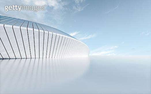 Concrete building - gettyimageskorea